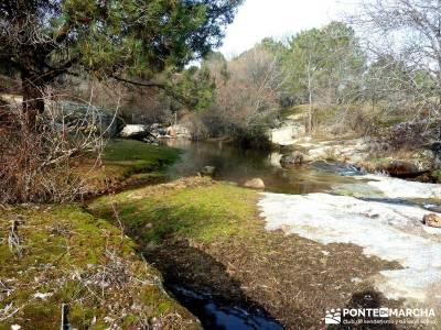 Fortines y Trincheras: Río Cofio; la granja de san ildefonso senderismo conocer gente bola del mund